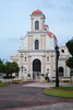 Vega Baja town square and church. Vega Baja, PR<br /> <br /> PR-090807-0179