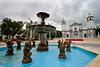 Fountain at Juana Diaz town square. Juana Diaz, PR<br /> <br /> PR-070716-0053
