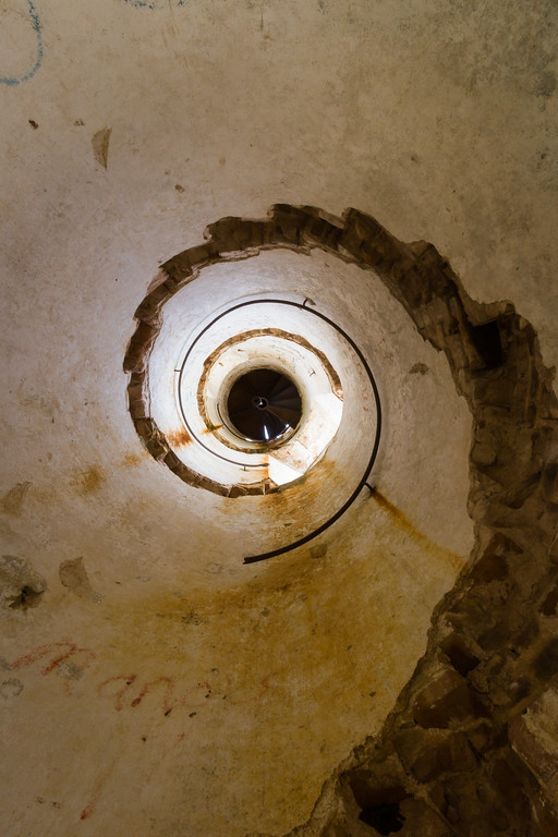 View of the inside of the Guanica Lighthouse light tower. Guanica, PR<br /> <br /> PR-070717-0179