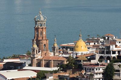 Iglesia de Nuestra Senora de Guadalupe in the morning