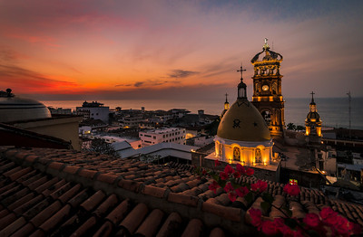 Puerto Vallarta, Mexico sunset