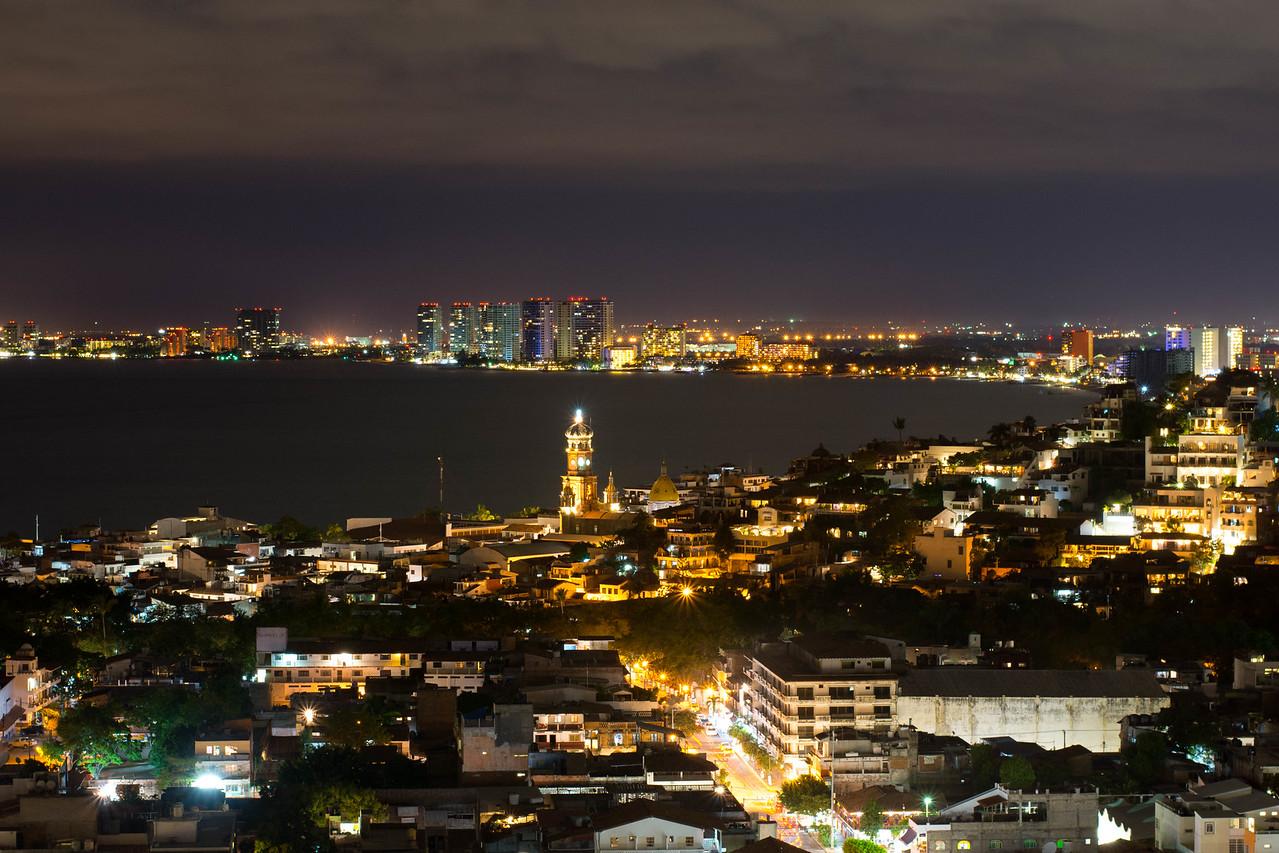Puerto Vallarta at night #1