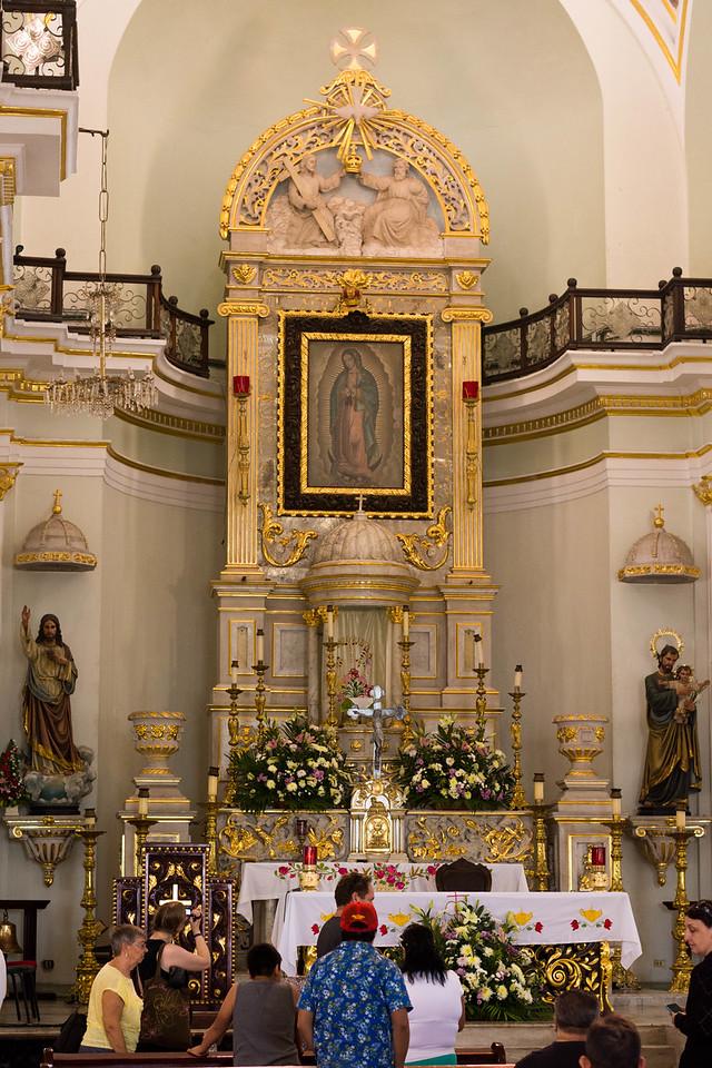 Nuestra Senora de Guadalupe altar
