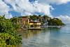 The Punta Santiago waterfront, Puerto Rico, Caribbean.