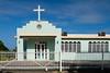 A small Caribbean church near Rincon, Puerto Rico, West Indies.