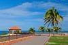 The Punta Higuera lighthouse park near Rincon, Puerto Rico.