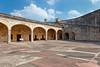 The San Cristobal Castle interior architecture in San Juan, Puerto Rico, West Indies.