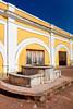 Interior architecture of the San Felipe del Morro Castle in San Juan, Puerto Rico, West Indies.