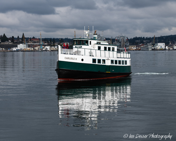 Original Mosquito Fleet Ferry still serving