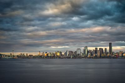 Seattle Skyline from Alki