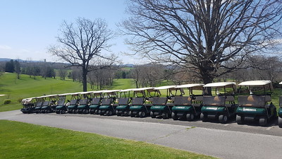 Golf Cart Parking (carts are leased)