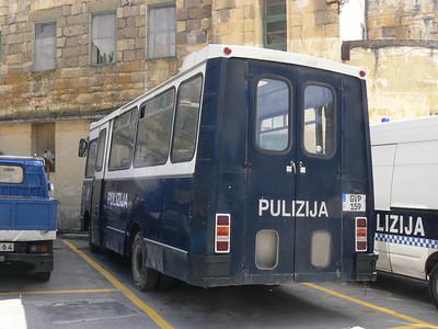 Pulizija Ta Malta GVP159 Floriana Mar 09