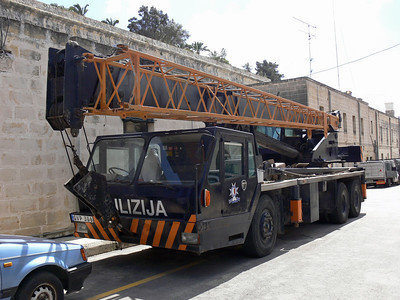 Pulizija Ta Malta GVP306 Floriana Mar 09