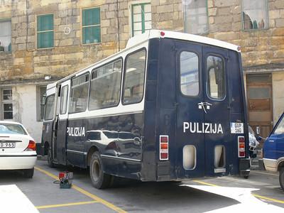 Pulizija Ta Malta GVP160 Floriana 2 Mar 09