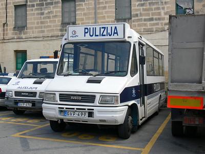 Pulizija Ta Malta GVP499 Floriana Mar 09
