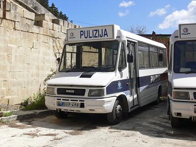 Pulizija Ta Malta GVP498 Floriana Mar 09