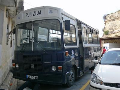Pulizija Ta Malta GVP160 Floriana 1 Mar 09