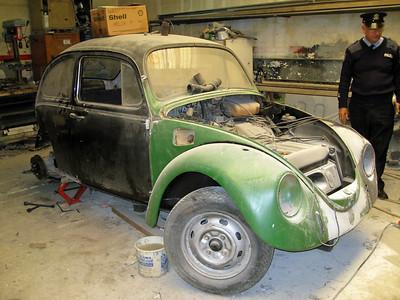 Pulizija Ta Malta VW Beetle Floriana Mar 09