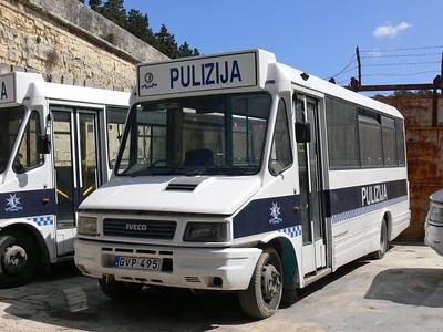 Pulizija Ta Malta GVP495 Floriana Mar 09