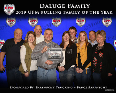 2019 - Award - UPM - Pulling Family of the Year