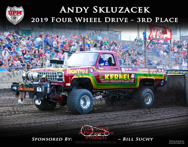 2019 - UPM - FWD - 3rd - Andy Skluzacek