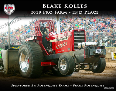 2019 - UPM - PF - 2nd - Blake Kolles