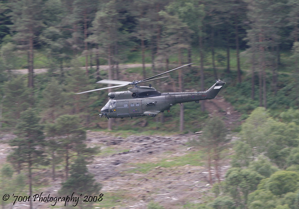 XW219 (230 SQN marks) Puma HC.1 - 27th June 2008.