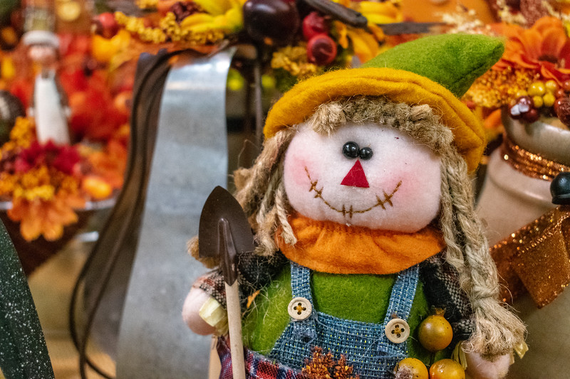 The Pumpkin Patch Arts and Crafts Fair have an abundance of local artists works from fall and Christmas decor to baked goods and homemade candles. Crafts can be found to spark the interest of all ages. (Brooke Barrett | Collegian Media Group)