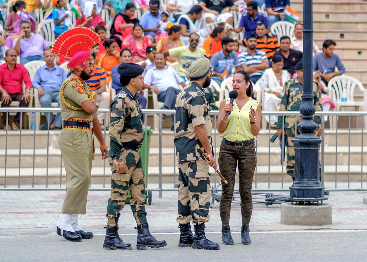 Wagah Border Indo-Pak Border