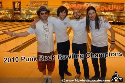 2010 Punk Rock Bowling winners - The Pin Ladins - Las Vegas, NV - May 9, 2010