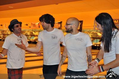 2010 Punk Rock Bowling winners - The Pin Ladins - Day 3 Final Rounds - Bowling Action - Las Vegas, NV - May 9, 2010