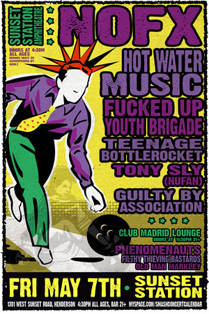 Punk Rock Bowling 2010 Flyer