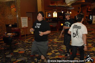 2 fisted drinker Joe - Punk Rock Bowling - Day 3 Bowling Action - Las Vegas, NV - May 9, 2010