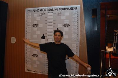 Mark Stern - Punk Rock Bowling - Day 3 Bowling Action - Las Vegas, NV - May 9, 2010