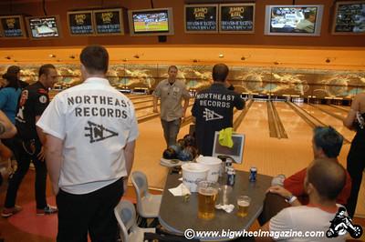 Northeast Records team - Punk Rock Bowling - Day 3 Bowling Action - Las Vegas, NV - May 9, 2010