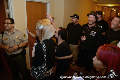 Hotel room gig with Johnny Madcap and The Distractions - Sam's Town - Las Vegas, NV - May 30, 2011