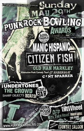 Punk Rock Bowling 2011 Poster