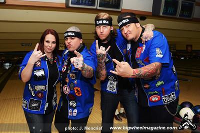 Team Ninja - Punk Rock Bowling 2012 Team Photo - Gold Coast - Las Vegas, NV - May 26, 2012 8th Place - $500
