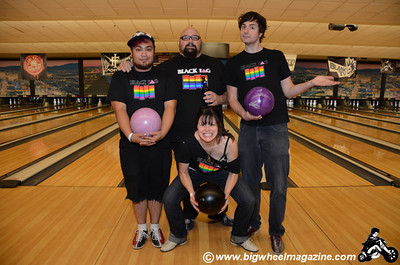 Queer And Bowling In Las Vegas - Squad 1 - Punk Rock Bowling 2012 Team Photo - Sam's Town - Las Vegas, NV - May 26, 2012