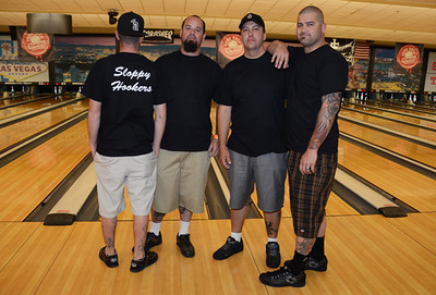 Sloppy Hookers - Squad 1 - Punk Rock Bowling 2012 Team Photo - Sam's Town - Las Vegas, NV - May 26, 2012