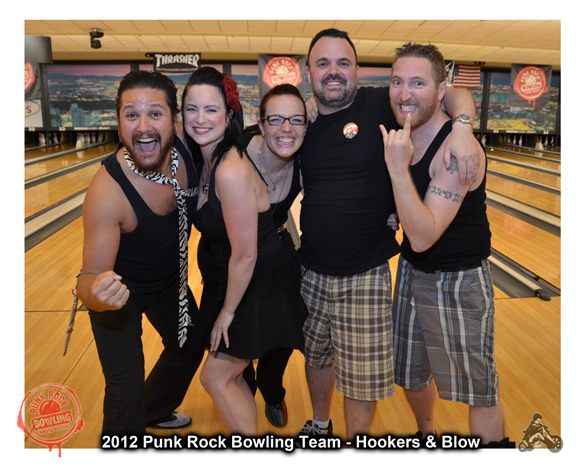 2012 Punk Rock Bowling winners Hookers & Blow photo