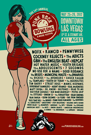 Punk Rock Bowling 2012 Las Vegas, NV