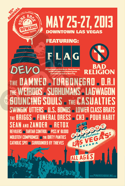 Punk Rock Bowling 2013 Las Vegas, NV