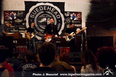 Suedehead - Chris Murray - Dj Gonzo - The Bohunks - at The Beauty Bar - Las Vegas, NV - May 24, 2013