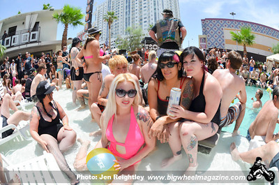 TSOL and Dj Gonzo and Low Life Sound System Pool Party - at Gold Spike Hotel - Las Vegas, NV - May 27, 2013