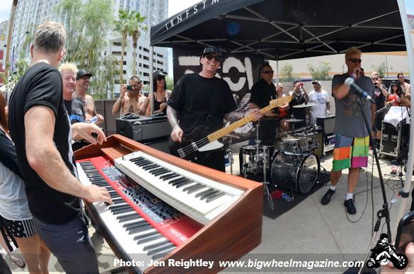 TSOL - Dj Gonzo and Low Life Sound System Pool Party - at Gold Spike Hotel - Las Vegas, NV - May 27, 2013