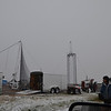 Punkin Chunkin in Aurora Oct. 9th, 2011.I swear Mother Nature just waits for this day to torture us. it was very windy and cold, also the first snow of the season for us.