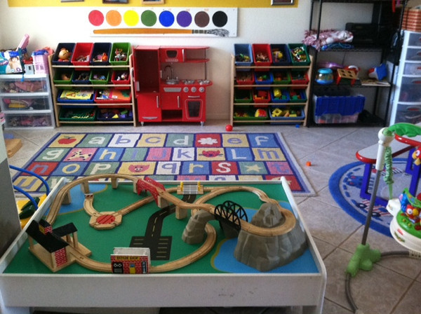 A portion of the preschool.