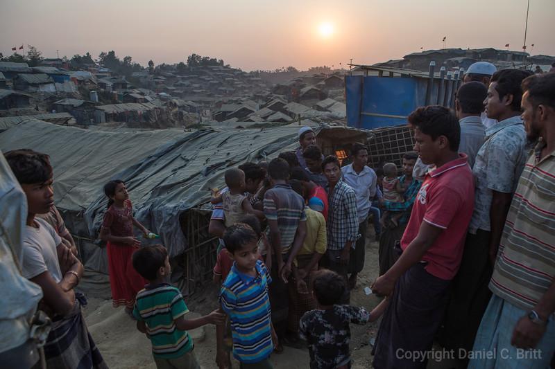 Rohingya Refugee Gathering News in BaluKhali