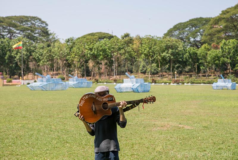 Burmese Woody Guthrie